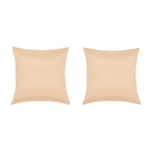 2 pack 24x24 tan big throw couch