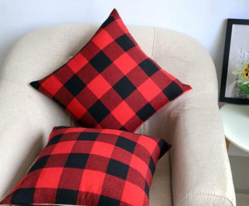 4TH and Buffalo Plaid Throw