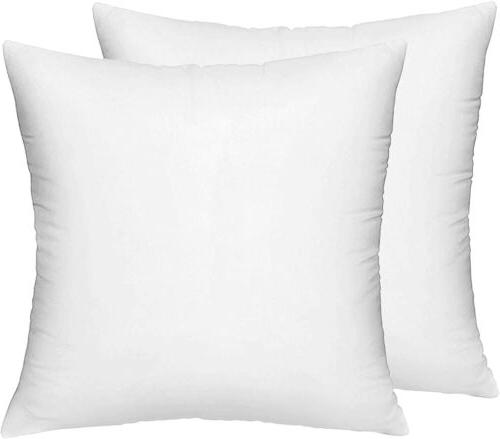22 x 22 inch pillow inserts set