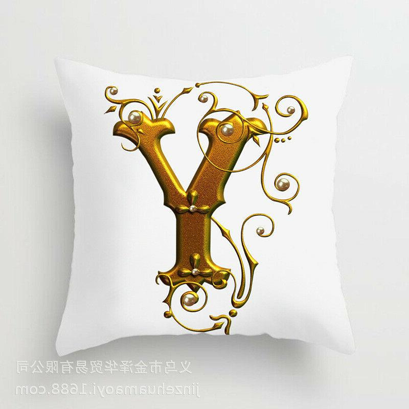 26 Gold pillows case for Decoration