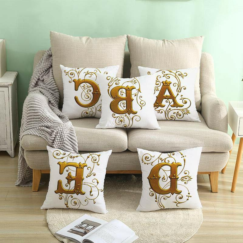 26 Letter case throw for Decoration
