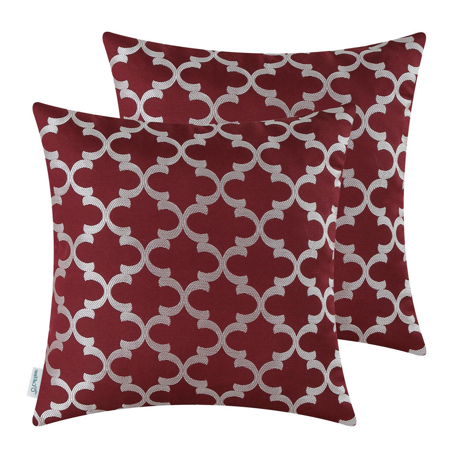Cushion Covers Accent Geometric Sofa