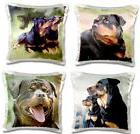 💗 3dRose Rottweiler Pillow Cases Rottweilers Dog Dogs Thr