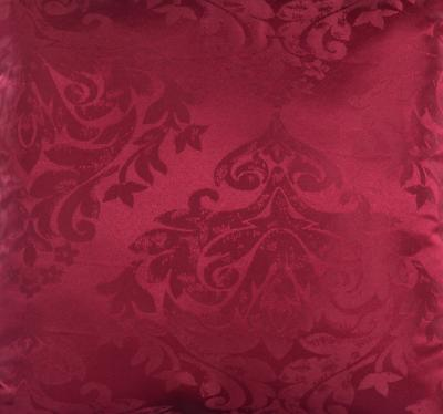 Burgundy Throw Pillows Mainstays Dark Damask Pattern Bed