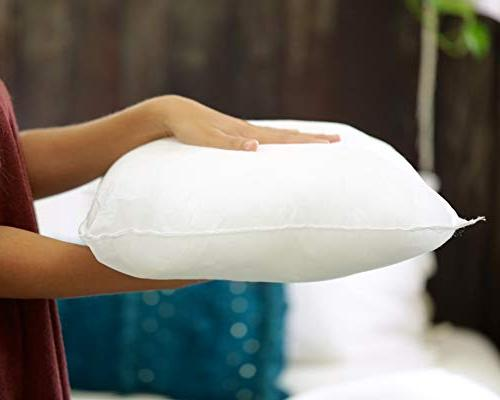 "Foamily Premium Pillow Insert Form 18"" L X W,"