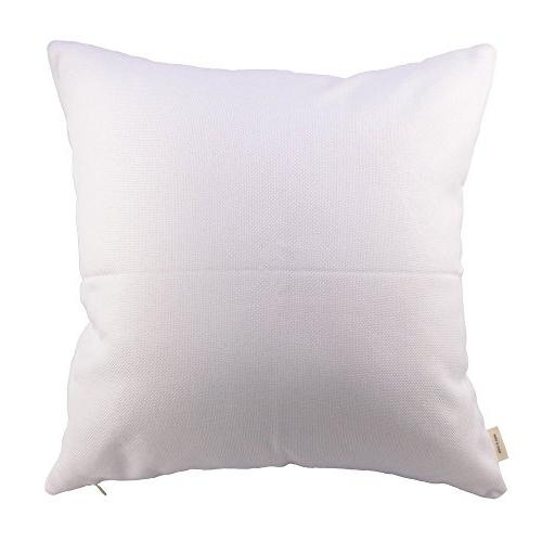 HOSL P61 4-Pack Home Throw Pillow Covers Square Only, NO