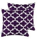 Pack of 2 CaliTime Throw Pillow Covers Cases for Couch Sofa