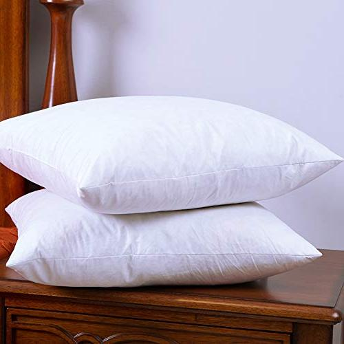 DOWNIGHT Cotton Pillow Inserts, Decorative Pillow
