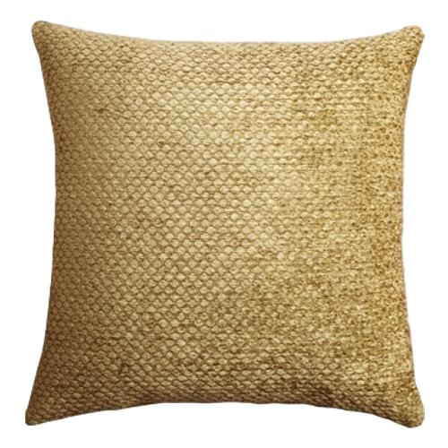 Set of 2 Threshold Gold Cream Over sized Toss Throw Pillow -