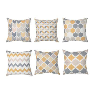 Top Finel Decorative Throw Pillow Covers Brushed Microfiber
