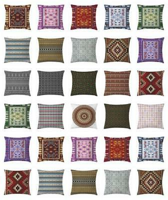 afghan throw pillow cases cushion covers by