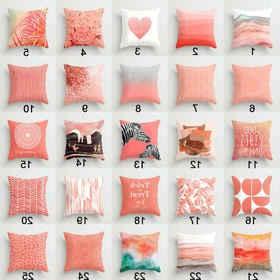 Artificial Coral cushion cover throw pillows cover sofa Decor