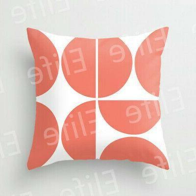 Artificial Coral throw sofa Decor