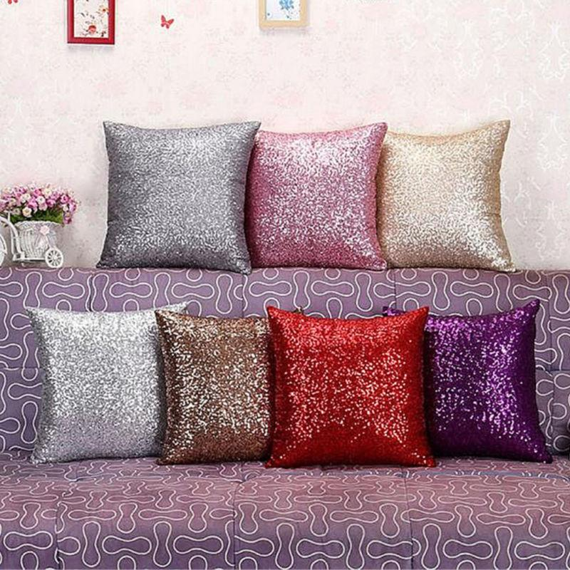 Bling Throw Cover Silver Cover Sofa