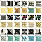 Bohemian & Moroccan Geometric Cotton Linen Pillow Case Squar