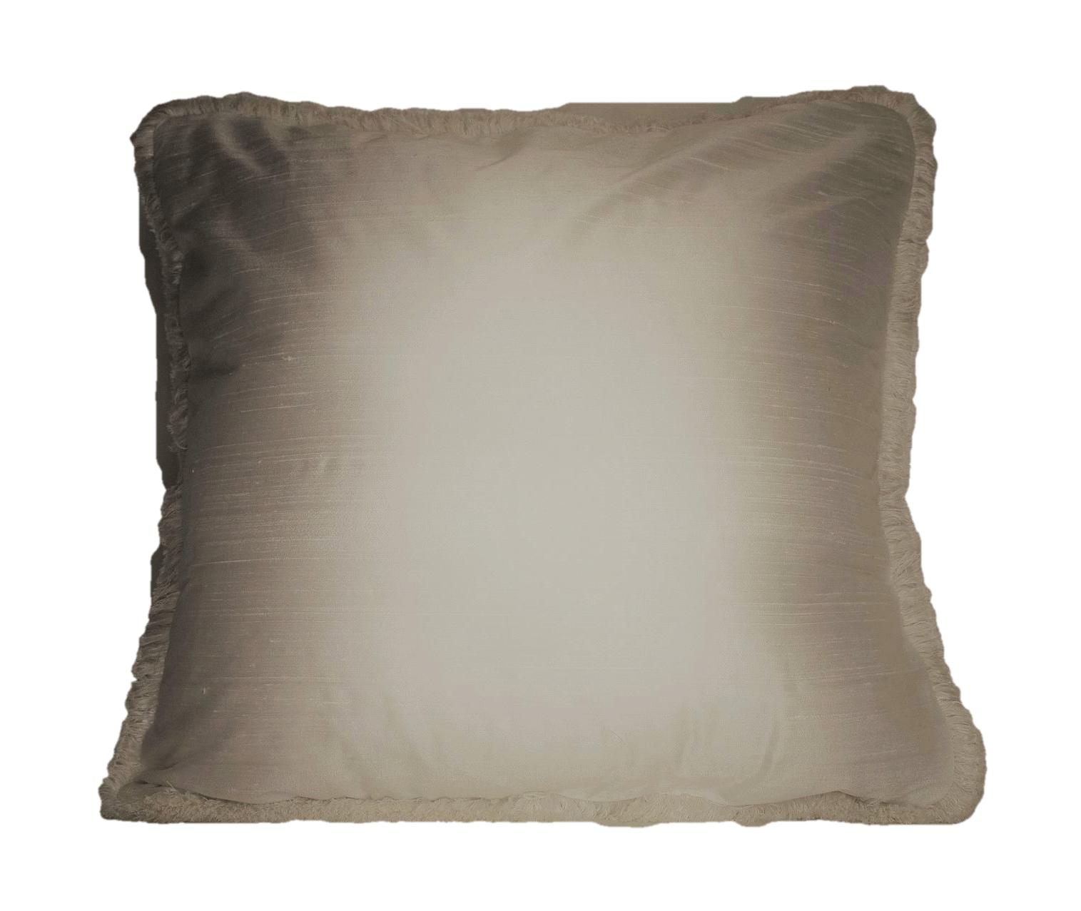 bronze silk square fringe for couch