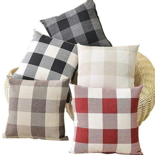 TEALP Pillow Cover 18''x18'', set of White 1
