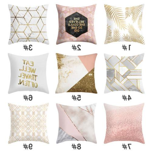 Buy 2 Get 1 Free,Geometric Polyester Throw Cover Sofa Case