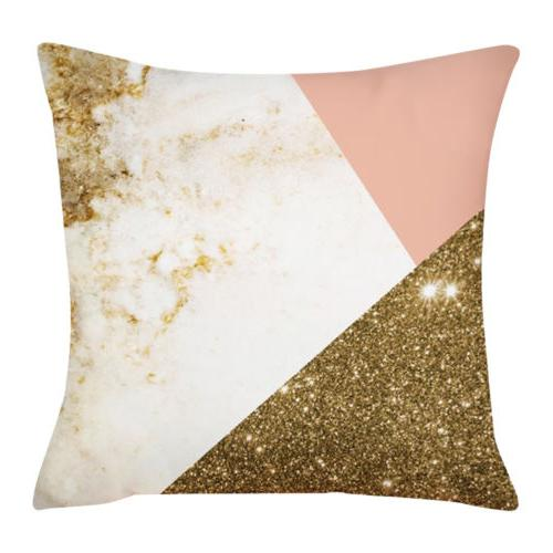 2Pcs Covers Pillow Cases Decor Gift