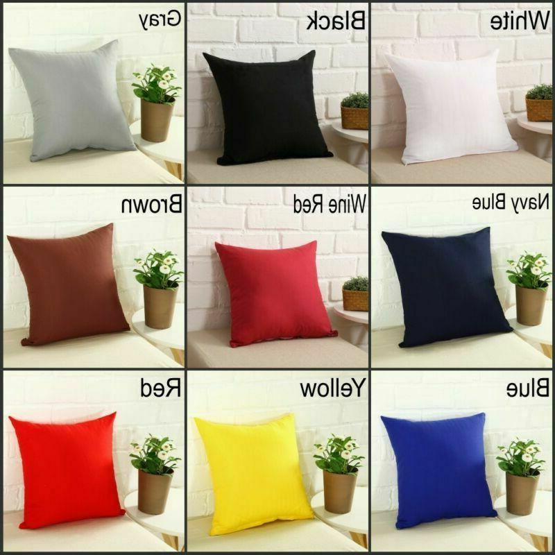 Candy Colors Pillow Car Cushion Décor Case 20""