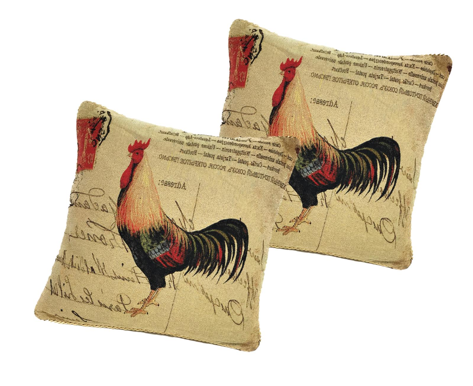 cc 15045 glamorous rooster woven