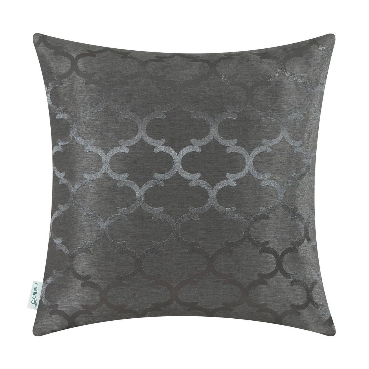 CaliTime Geo Reversible Covers Pillows