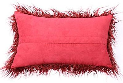 Kevin Textile Christmas Home Deluxe Merino Style Faux Throw
