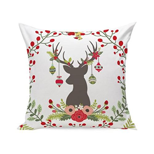 clearance merry christmas floral print