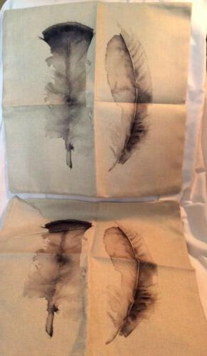 HOSL Throw Pillowcases w/Two This Is Cases