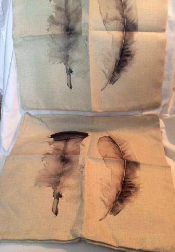 HOSL Linen Throw Pillowcases Feathers This For Cases