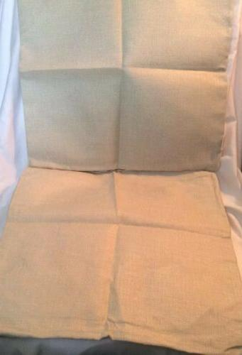 HOSL Linen Throw w/Two Feathers This Is Cases