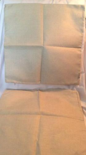 HOSL Square Throw Pillowcases w/Two This Cases