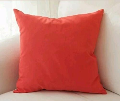 cotton solid throw pillow covers 26 x