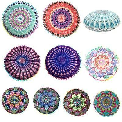 cover floor large mandala cushion pillow throw