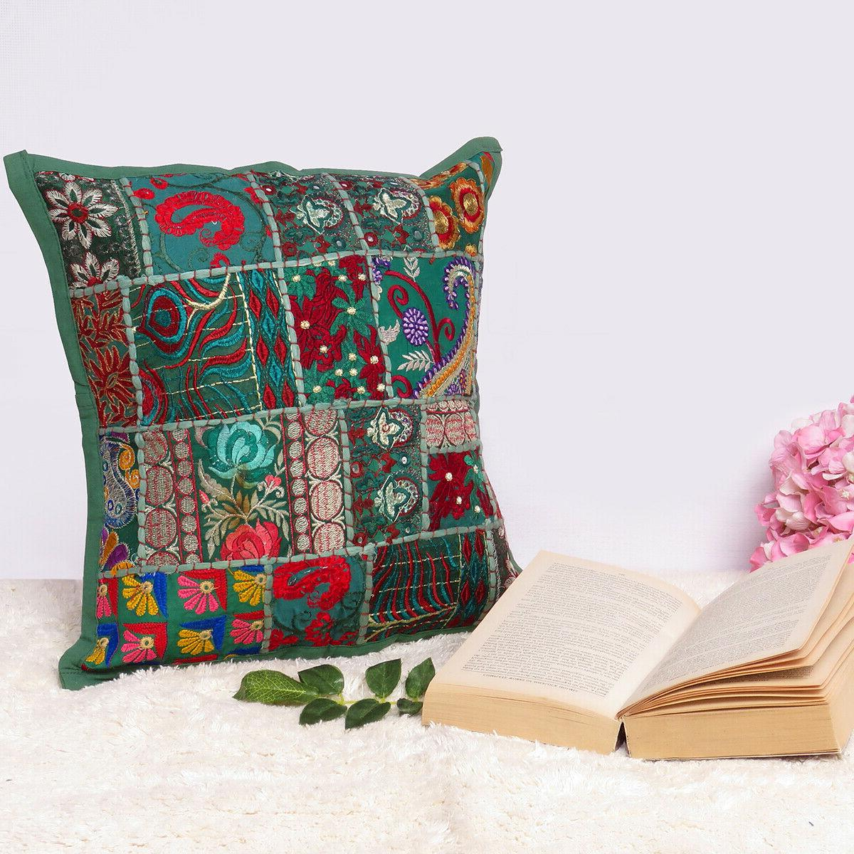 cover throw indian cushion pillow case pillows