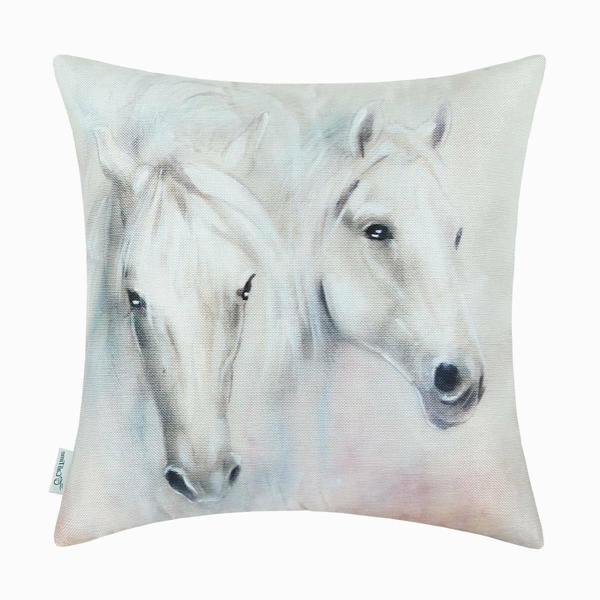CaliTime Covers Pillow Cases Case Wild Horse Animal