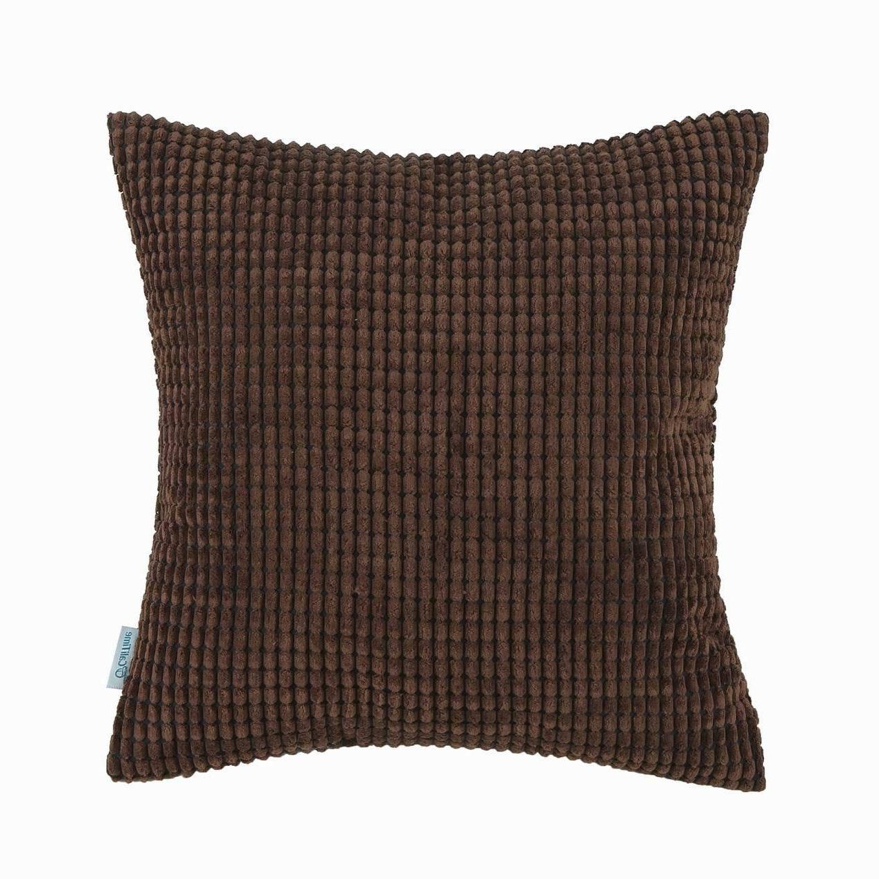 """CaliTime Cushion Cases Solid 24"""""""