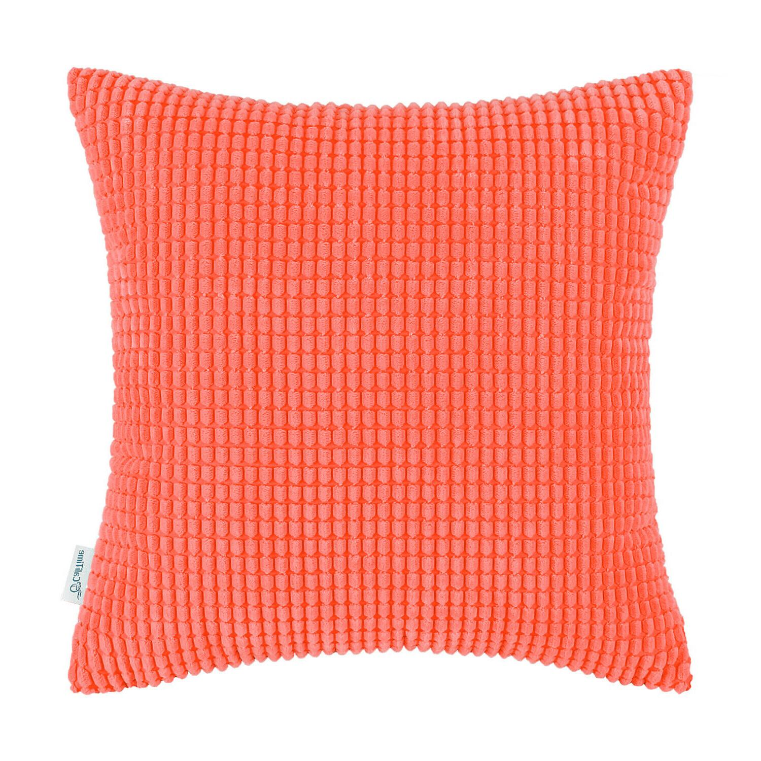 cushion covers pillow cases solid soft corduroy
