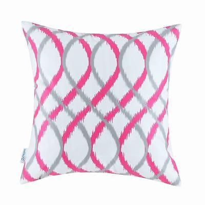 Calitime Cushion Covers Throw Pillow Waves Strips