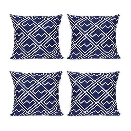 cushion covers vintage geometric decorative