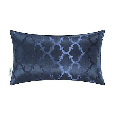 """12x20"""" Chains Geo Reversible Covers Pillows Shell"""