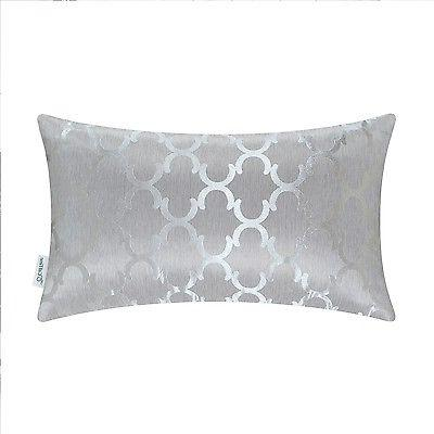 CaliTime Throw Covers Pillows Shell Chains Accent Geo Reversible