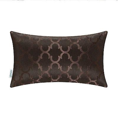 CaliTime Throw Pillows Geo Reversible