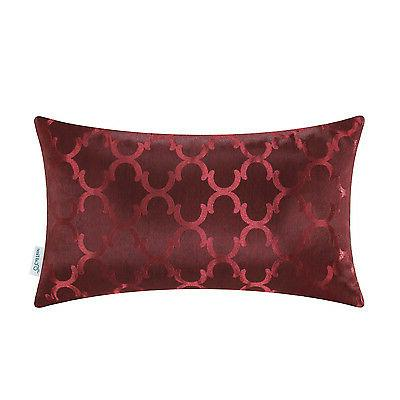 CaliTime Pillows Accent Geo Reversible