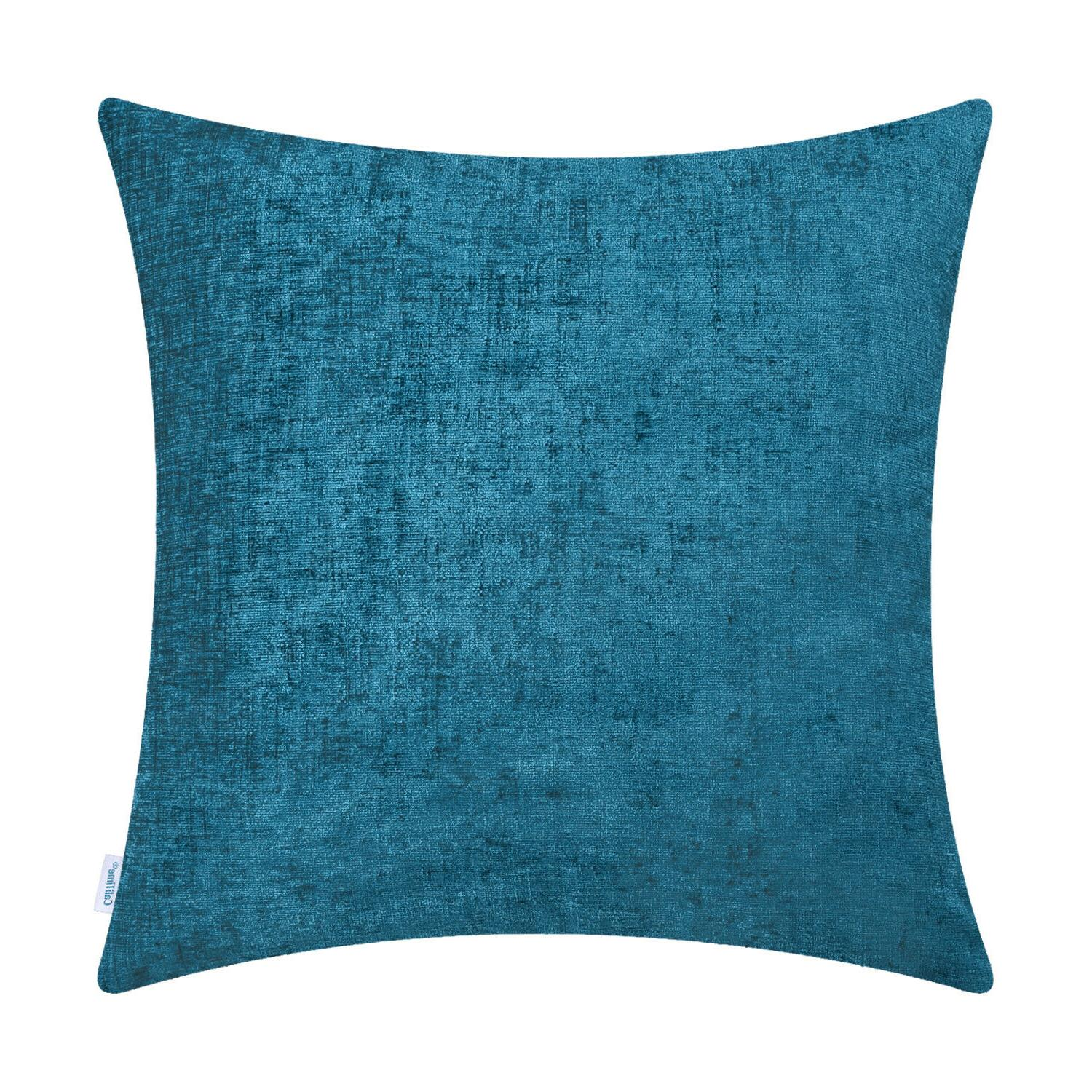 """CaliTime Cushions Covers Pillows Shells Decor Solid x 20"""""""