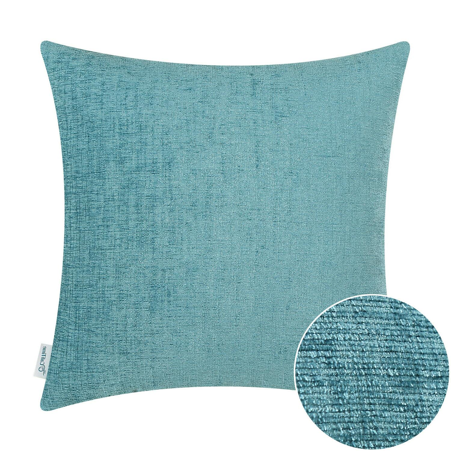 """Pillows Solid Chenille 20"""""""