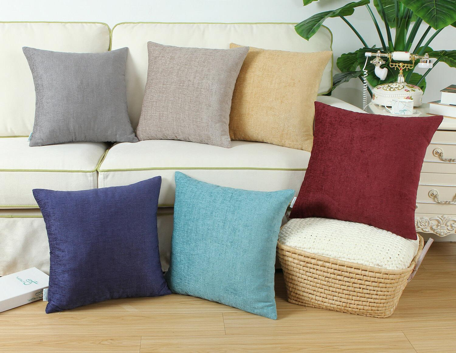 CaliTime Throw Cushion Pillows Case Shell Cover Decor