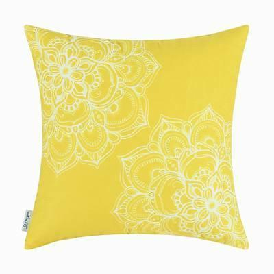 CaliTime Throw Covers Dahlia Soft 18X18""