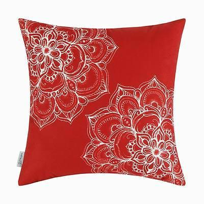 CaliTime Cushions Pillows Covers Soft Fleece 18X18""