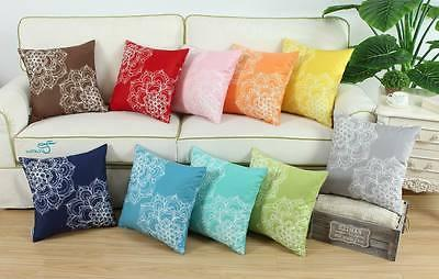 cushions throw pillows covers vintage dahlia florals